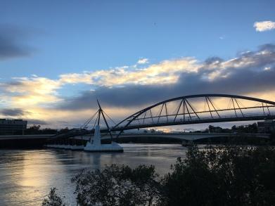 Sunrise Run in the City